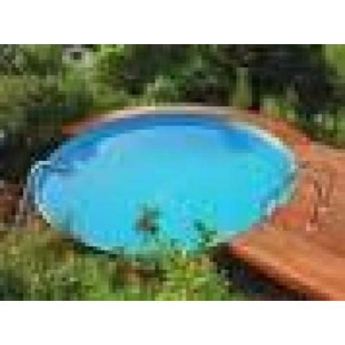 Ibiza kerek medence 4,0x1,5m homokszűrő nélkül