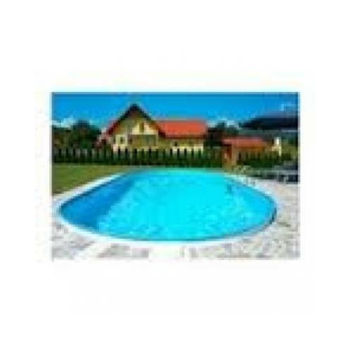Ibiza ovális medence 7,0x3,5x1,5m 8m3/ óra homokszűrővel