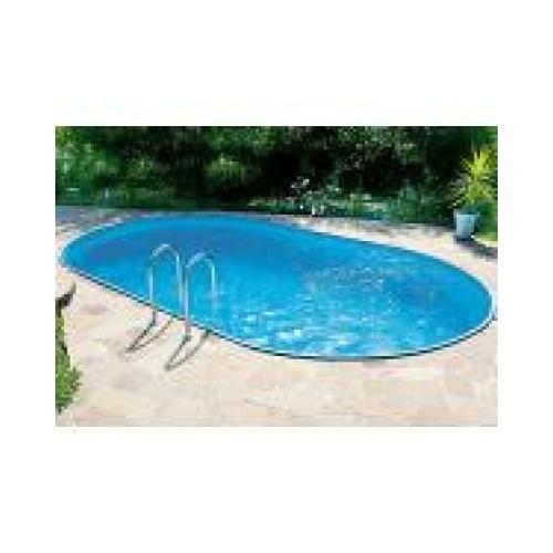 Ibiza ovális medence 8,0x4,16x1,5m vízforgató nélkül